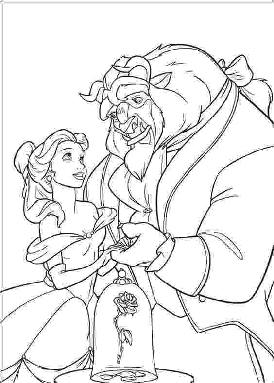 beauty and the beast coloring pages free printable beauty and the beast coloring pages for kids beauty coloring and beast pages the