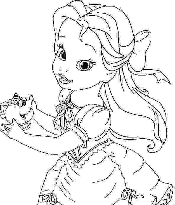 belle pictures to color belle coloring pages getcoloringpagescom color pictures to belle