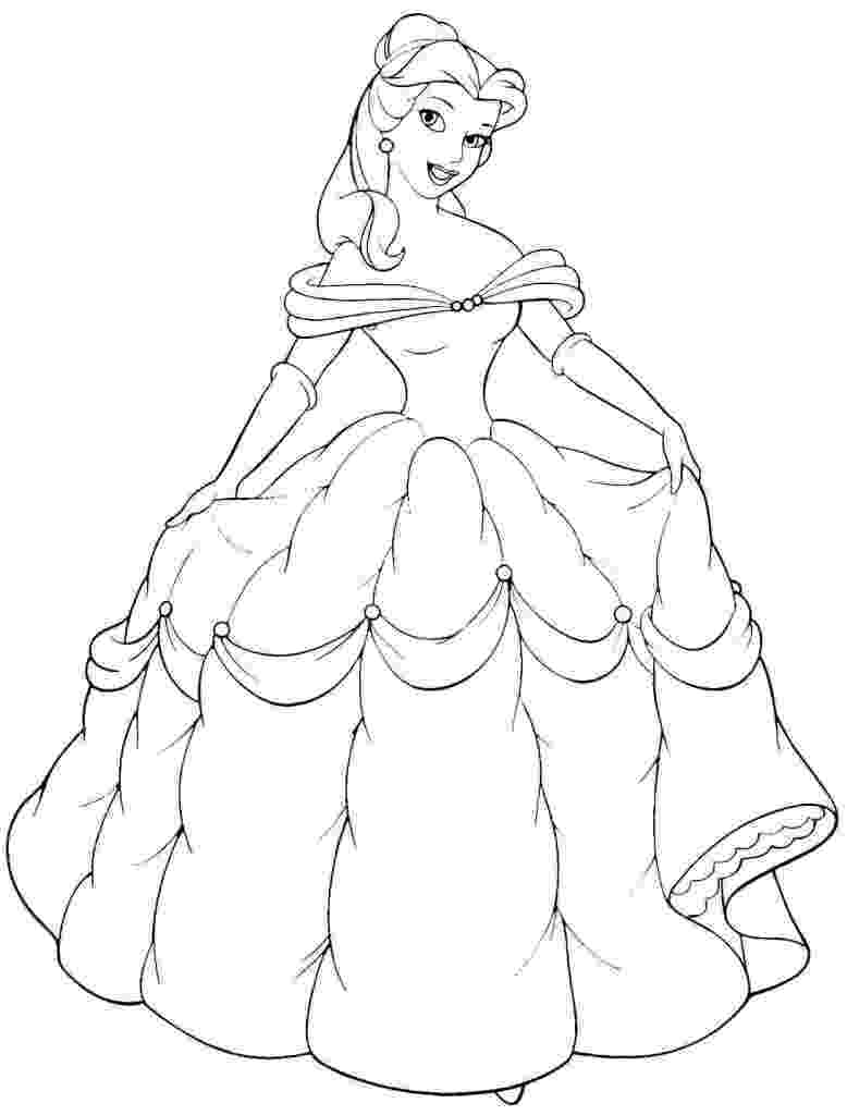 belle pictures to color free printable belle coloring pages for kids pictures to color belle