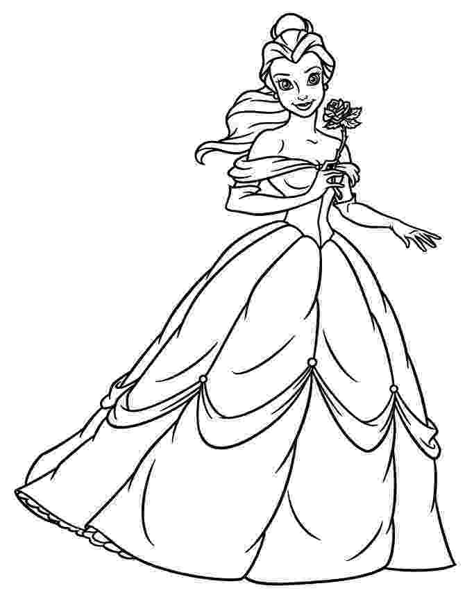 belle to color coloring pages belle coloring pages from beauty and the to belle color