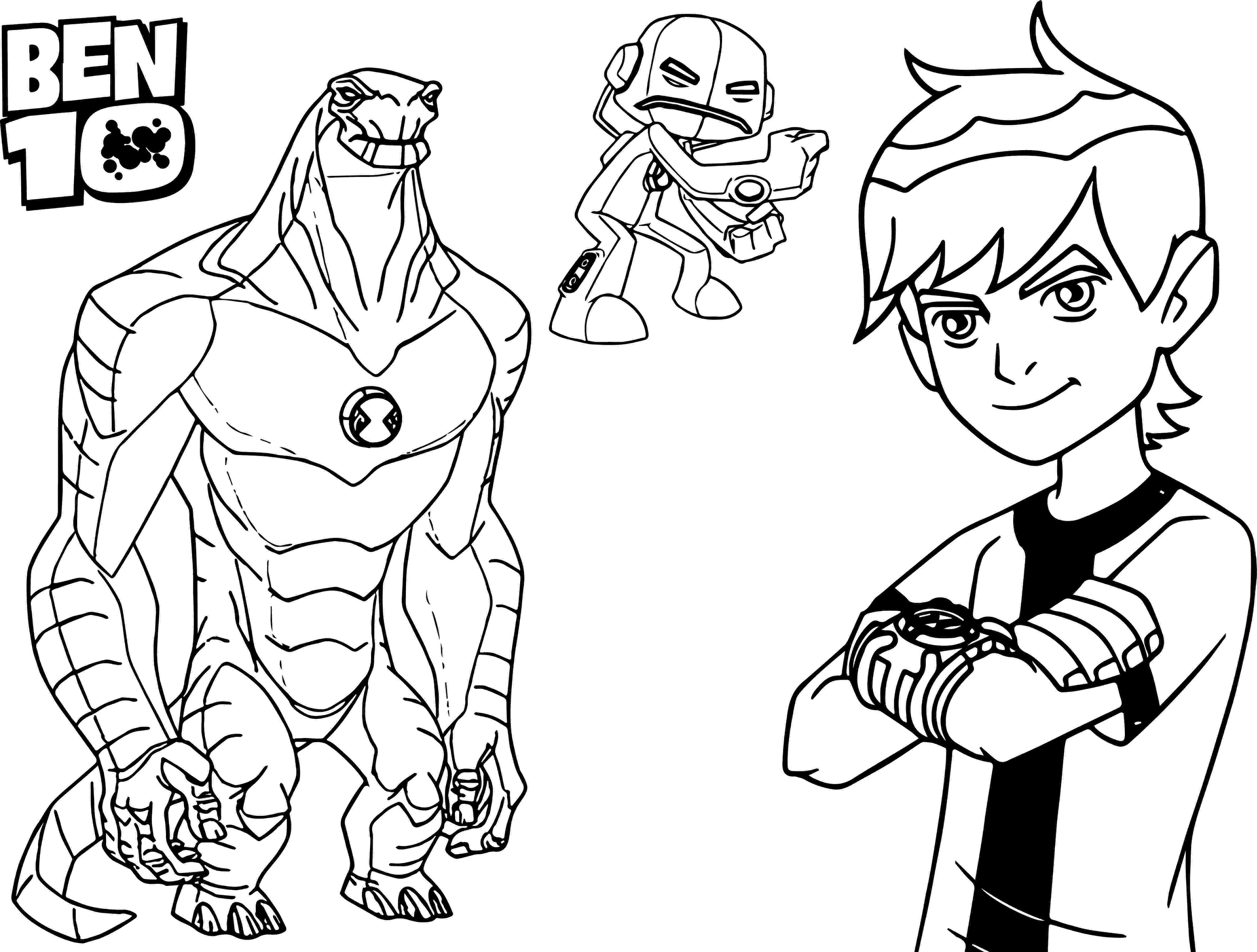 ben 10 ultimate alien coloring pages to print ben 10 water hazard alien ultimate coloring pages alien print 10 ultimate pages to ben coloring