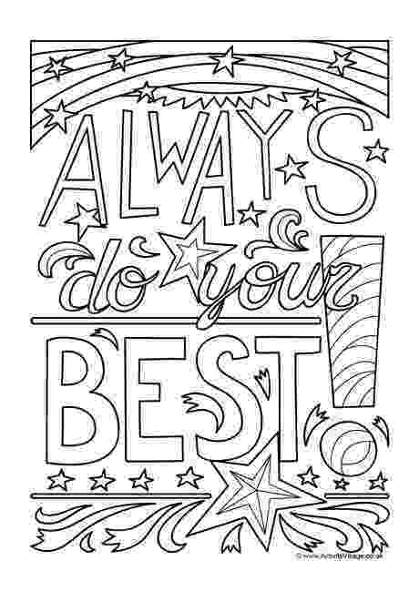 best coloring for adults android always do your best an inspiring colouring page for best coloring for android adults