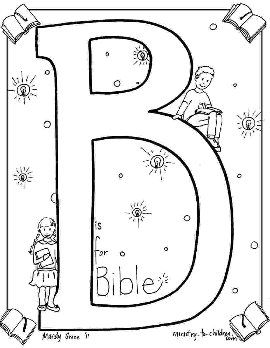bible coloring pages for kids quotb is for biblequot coloring page coloring pages for kids bible