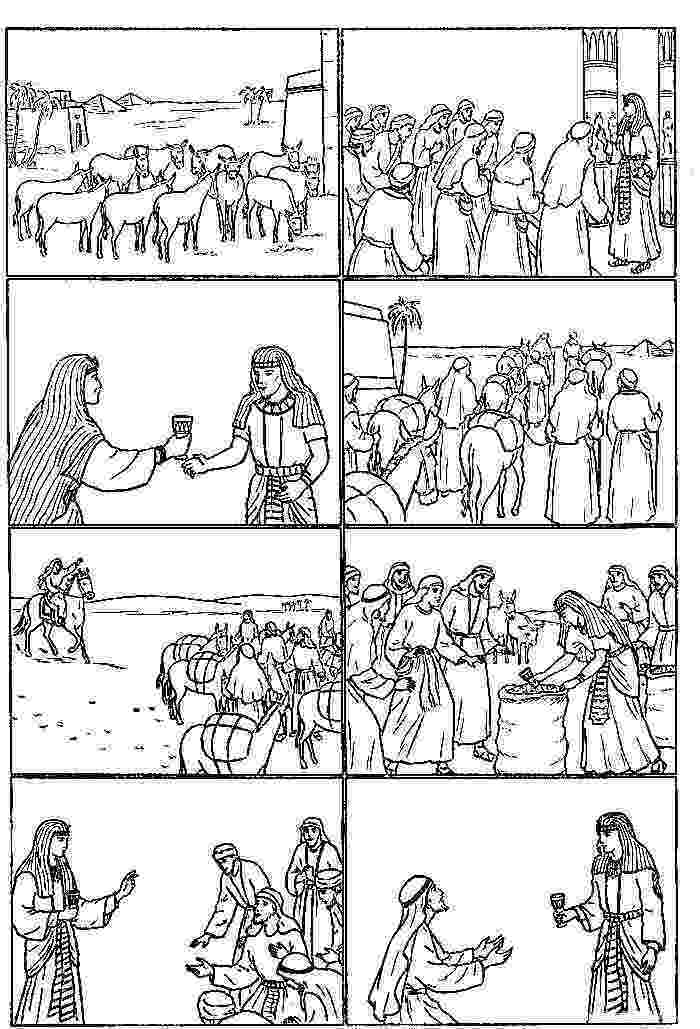 bible story coloring pages joseph joseph coloring pages child coloring joseph in egypt joseph coloring bible pages story