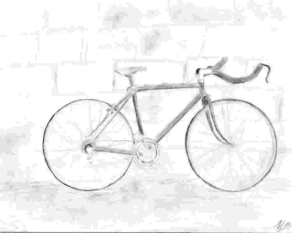 bicycle sketch bicycle sketch by ng oc on deviantart sketch bicycle