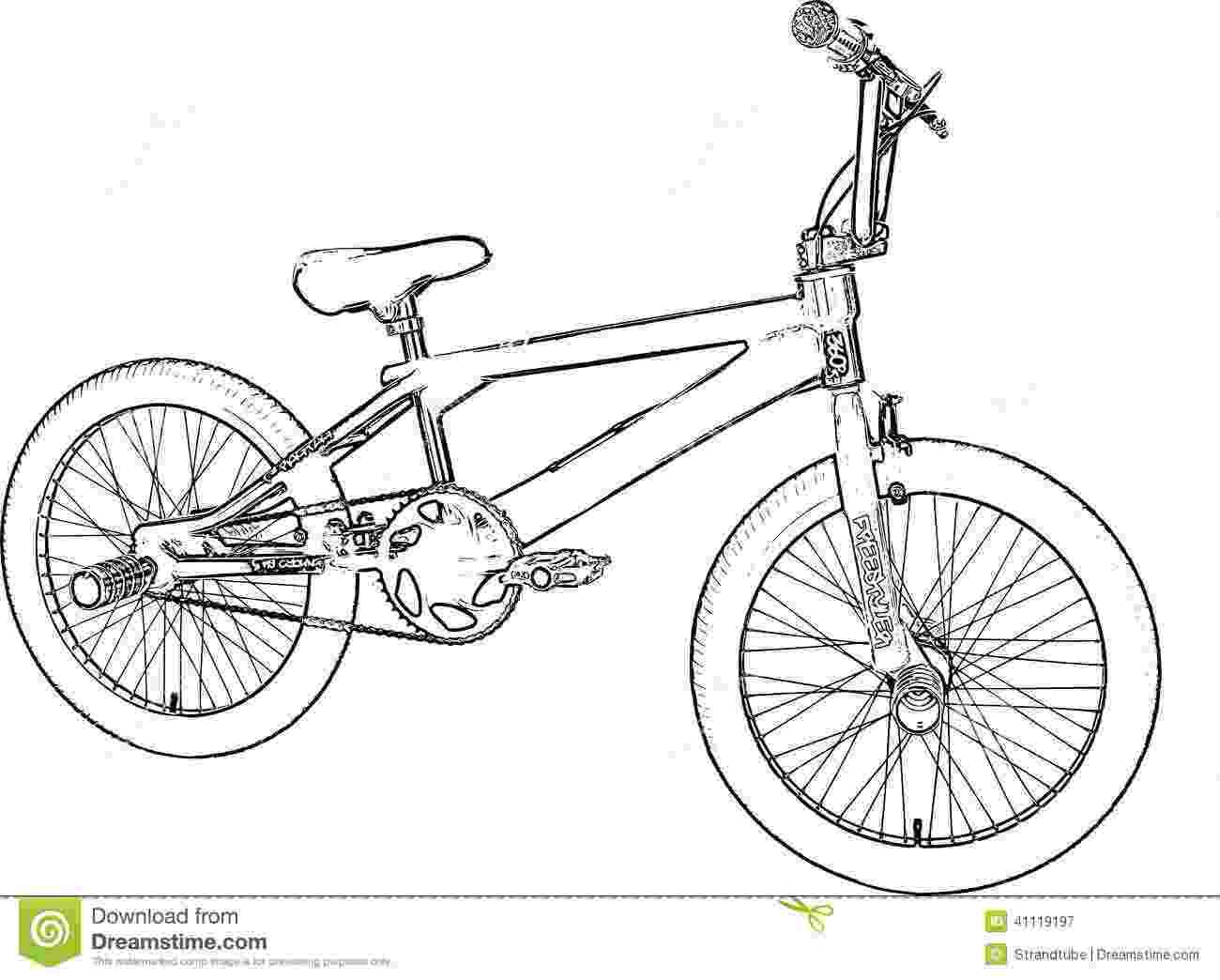 bicycle sketch bmx sketch stock illustration illustration of bicycle sketch