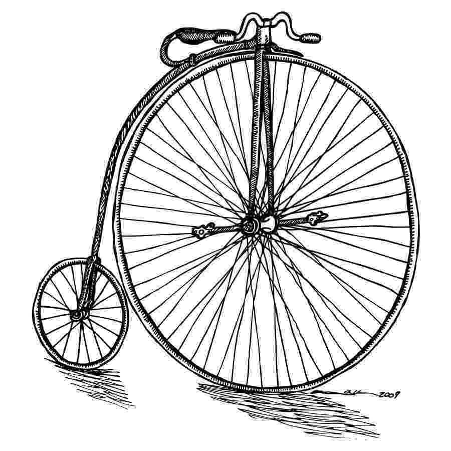 bicycle sketch boneshaker bicycle drawing by karl addison sketch bicycle
