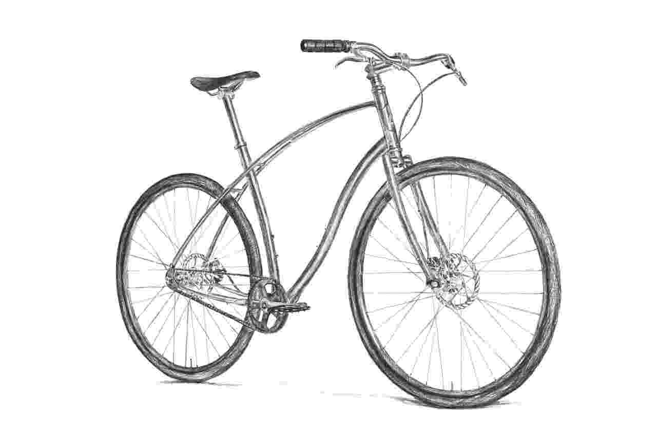 bicycle sketch budnitz bicycles blog bicycle sketch