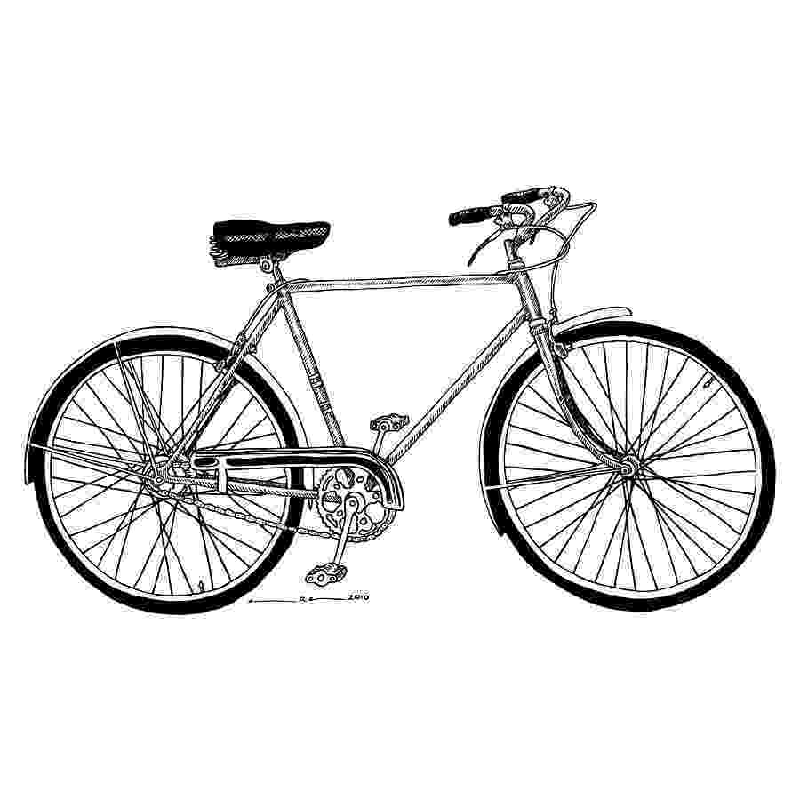 bicycle sketch classic road bicycle drawing by karl addison sketch bicycle