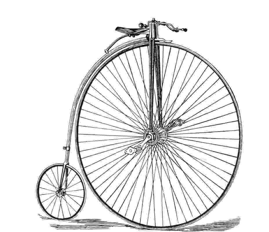 bicycle sketch vintage bicycle clip art clipartsco sketch bicycle