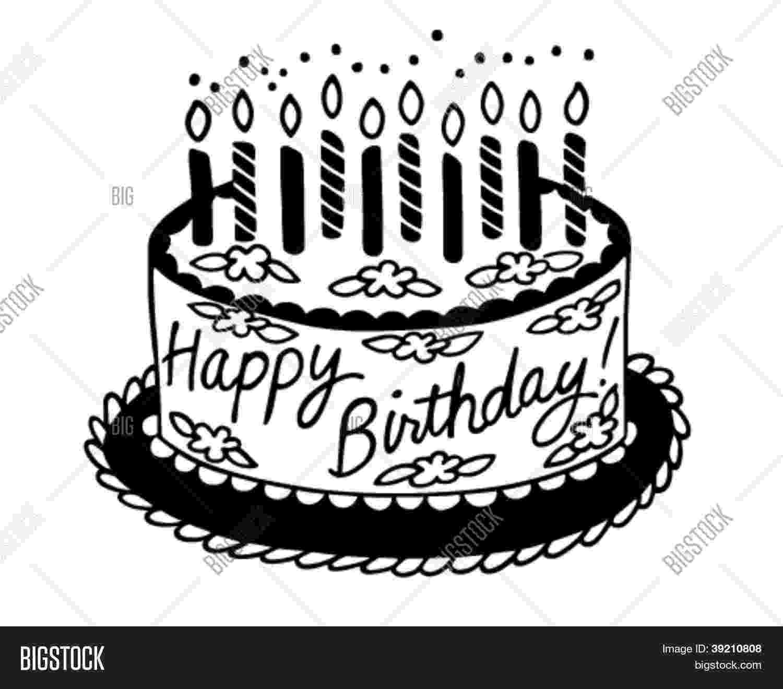 big birthday cake cartoon birthday cake vector photo bigstock big cake birthday