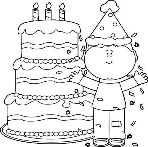 big birthday cake clip art black and white small black and white birthday birthday cake big
