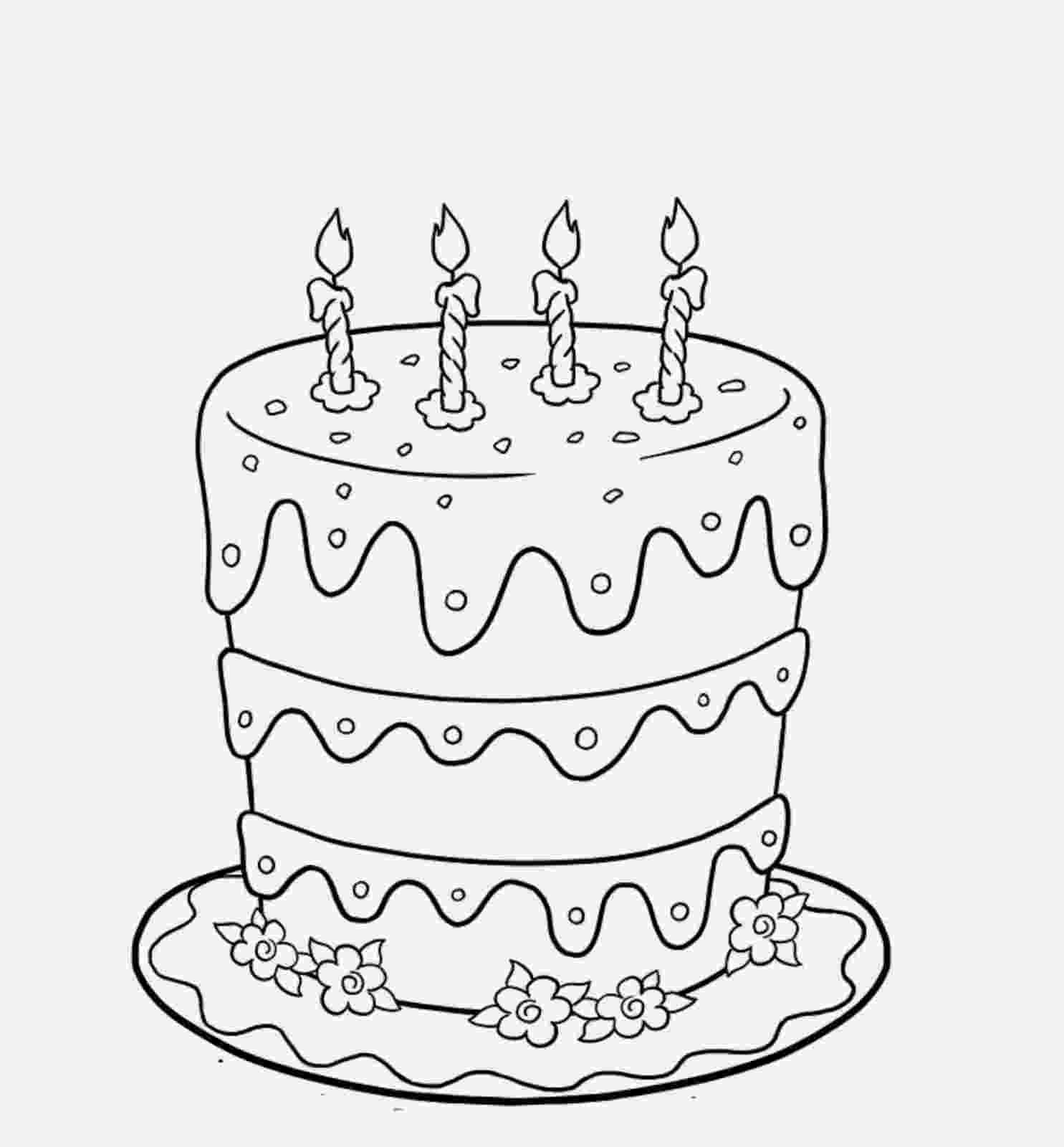 big birthday cake how to draw a birthday cake step by step drawing birthday cake big