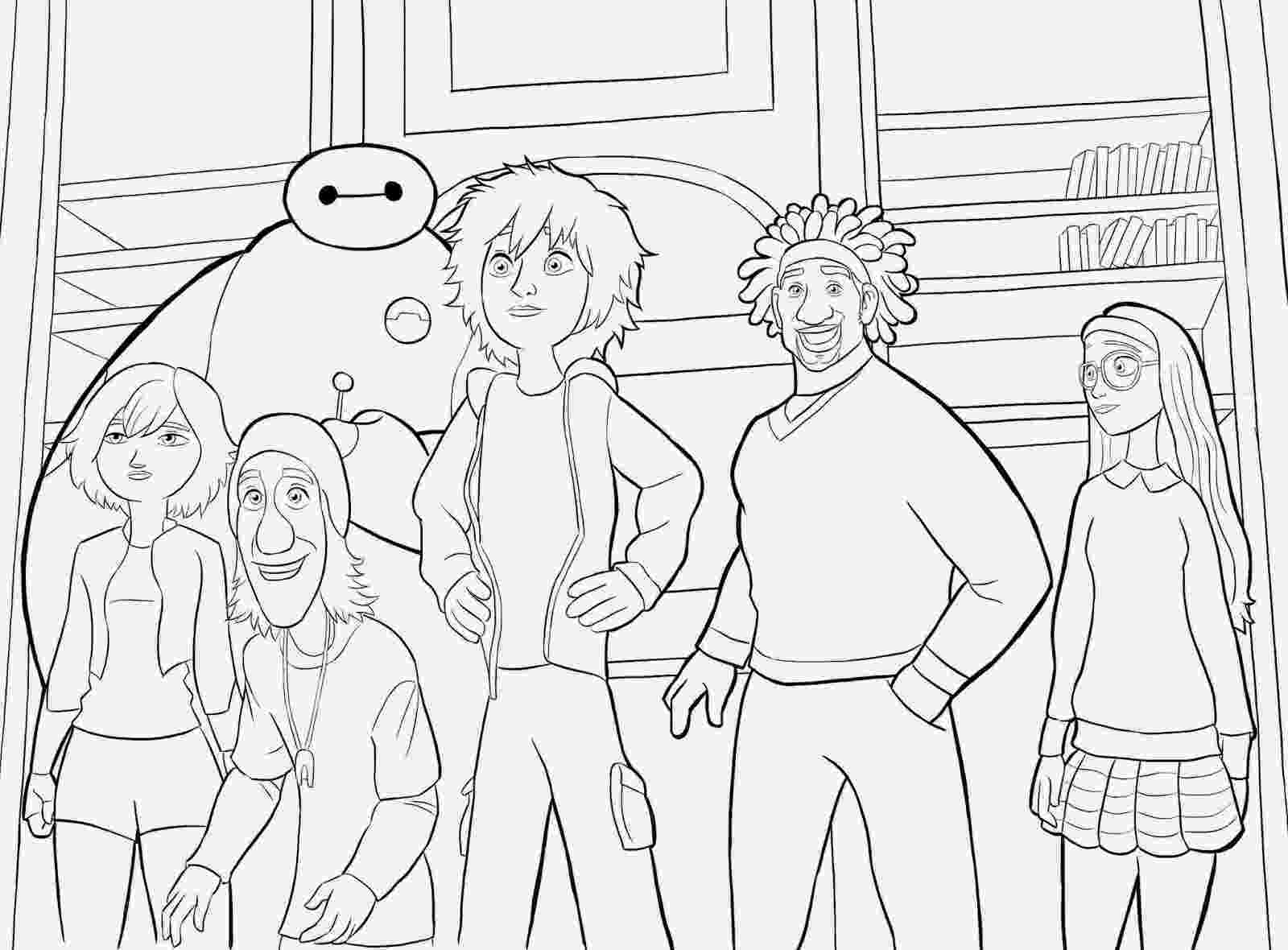 big hero 6 free colouring pages coloring pages big hero 6 coloring pages free and printable free hero pages big 6 colouring