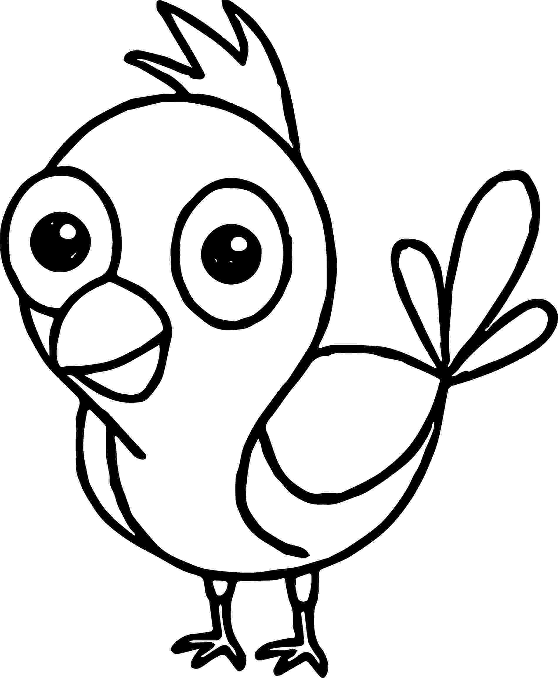 bird coloring images line art coloring page bird with blossoms the bird coloring images