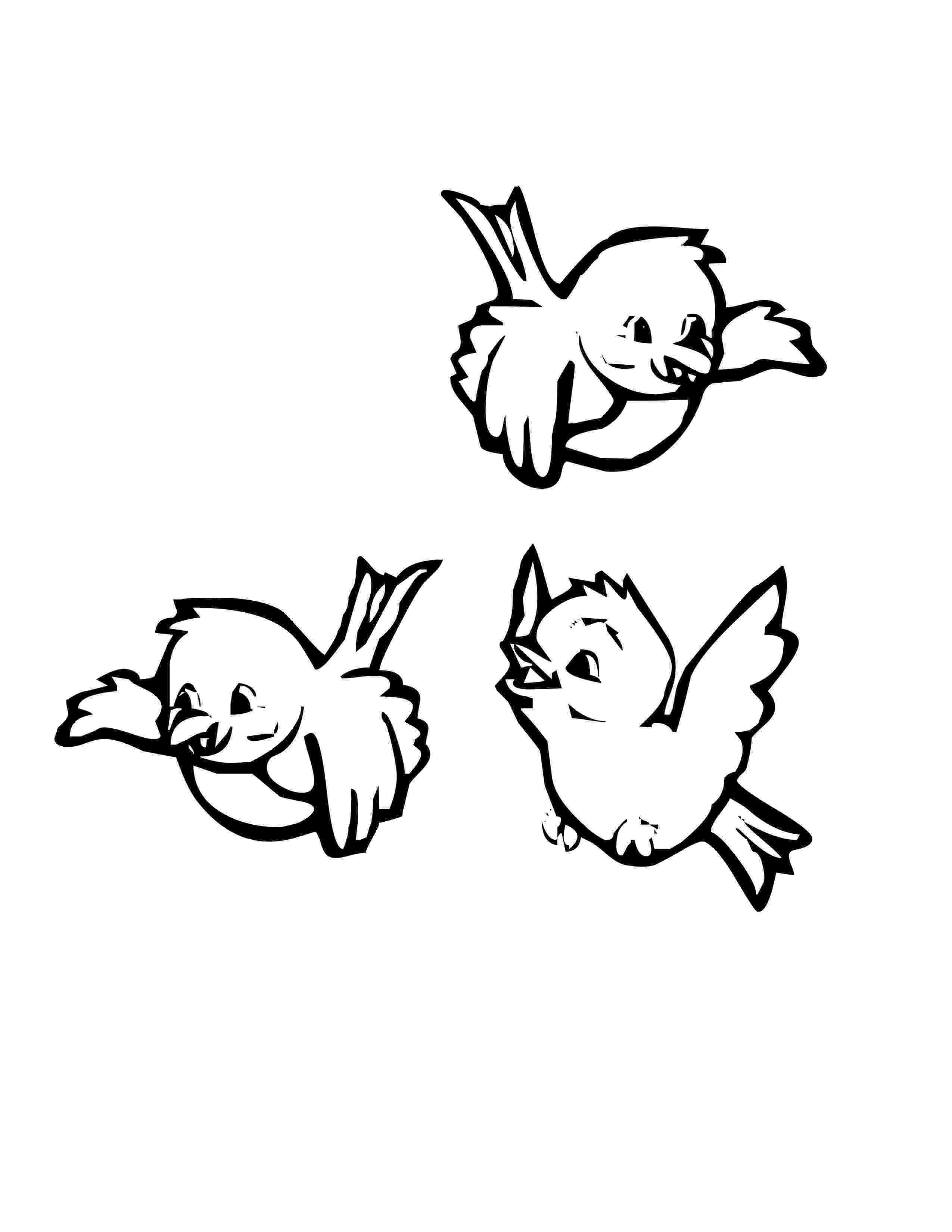 birds to color bird group coloring pages hellokidscom color birds to
