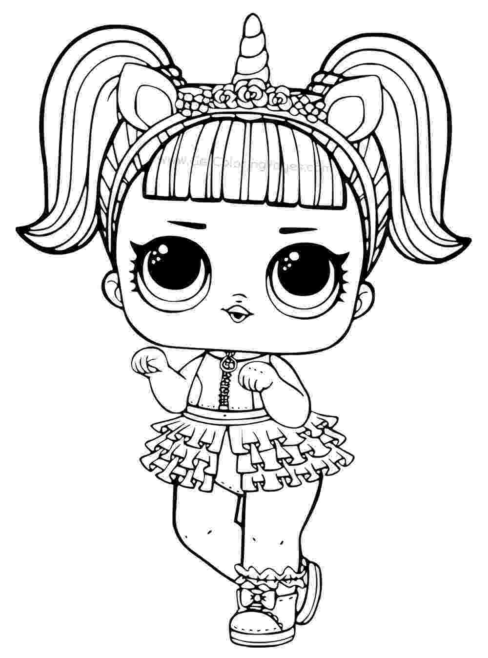 black and white colouring pages coloring pages of lol surprise dolls 80 pieces of black colouring pages and black white