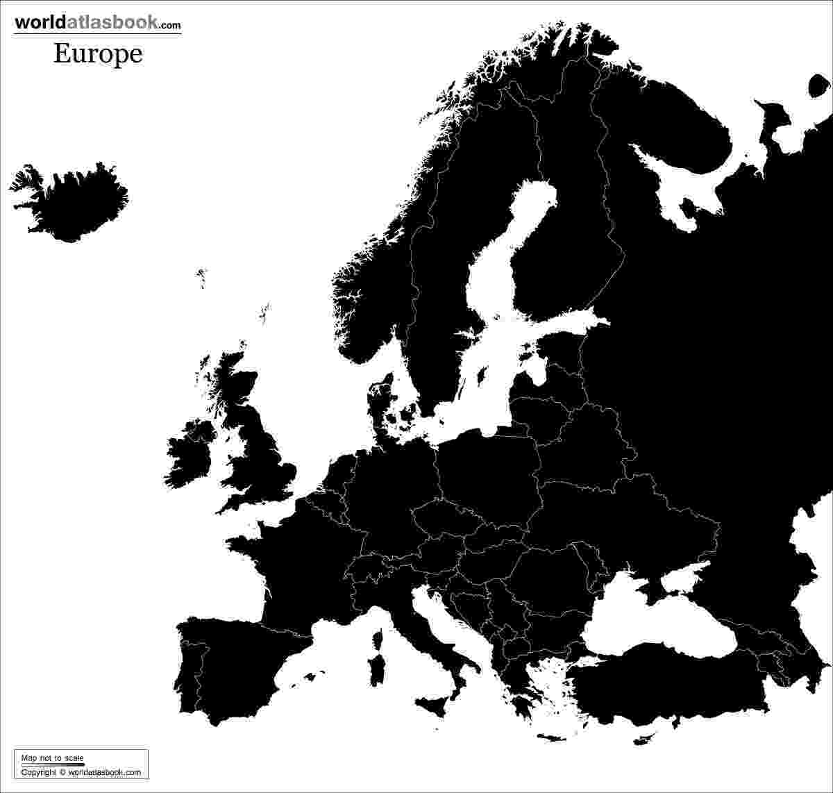black and white map of europe geography the revenge of europe playing in the world game of black map and europe white
