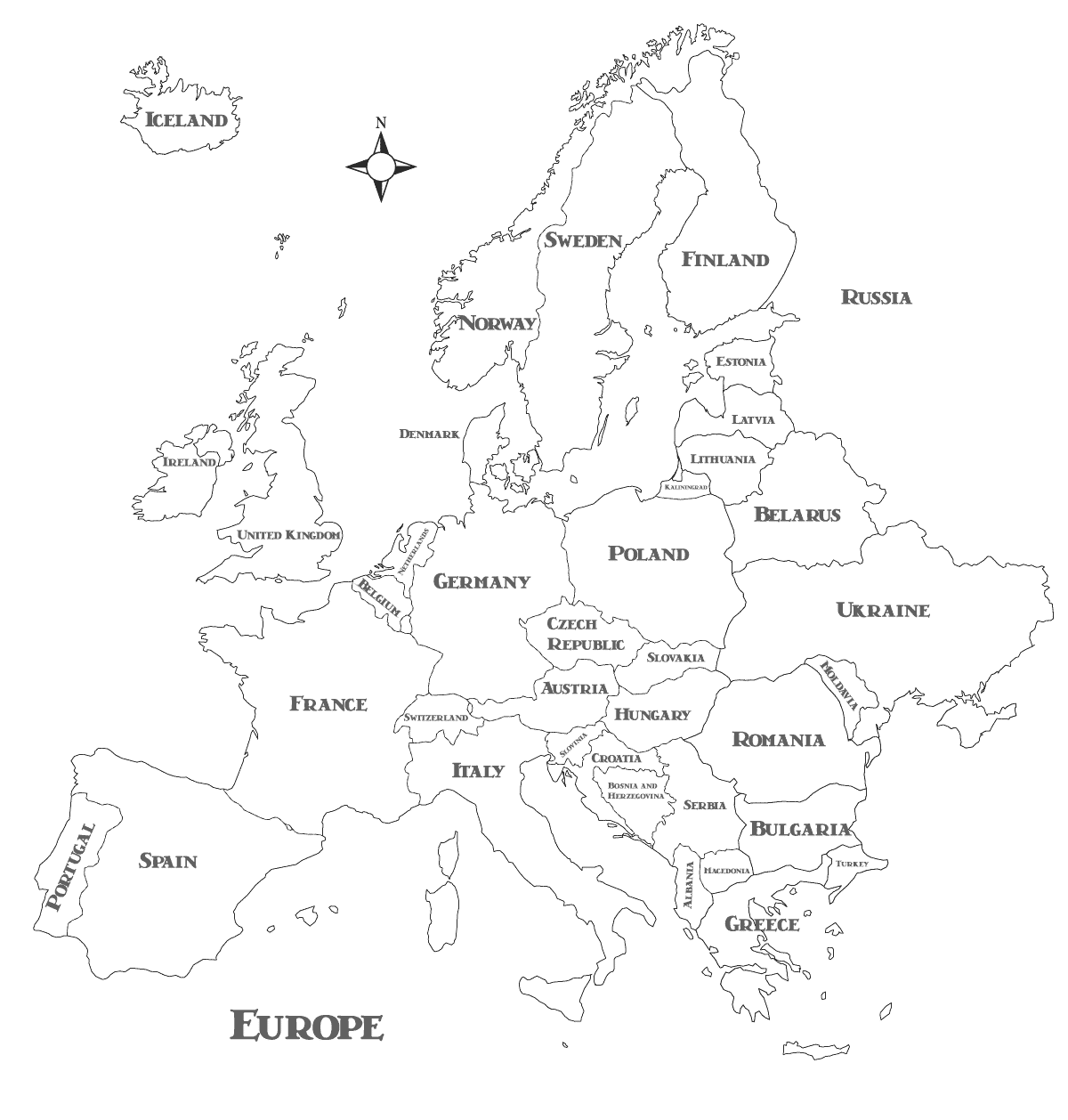 black and white map of europe map of europe before ww1 in black and white and travel and map europe of white black
