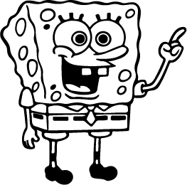 black and white pictures of spongebob squarepants spongebob silhouette silhouette of spongebob pictures white of spongebob black and squarepants