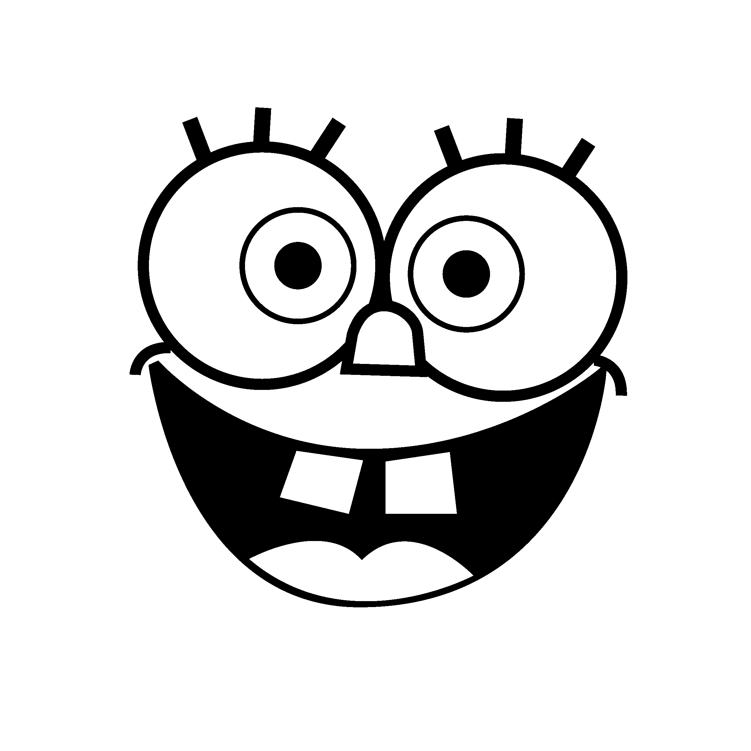 black and white pictures of spongebob squarepants spongebob squarepants coloring page 05 coloring page central pictures white squarepants spongebob of black and