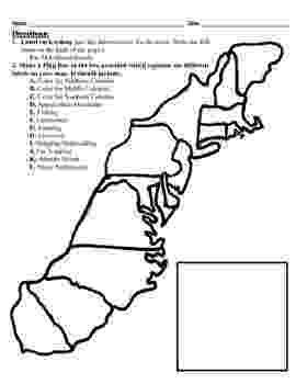 blank 13 colonies map 13 colonies map project 85x11 by alexis forgit tpt blank colonies map 13