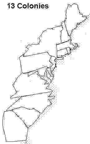 blank 13 colonies map blank 13 colonies map 13 colonies map 13 colonies 13 colonies map blank
