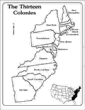 blank 13 colonies map maps of the thirteen colonies blank and labeled 13 blank colonies map
