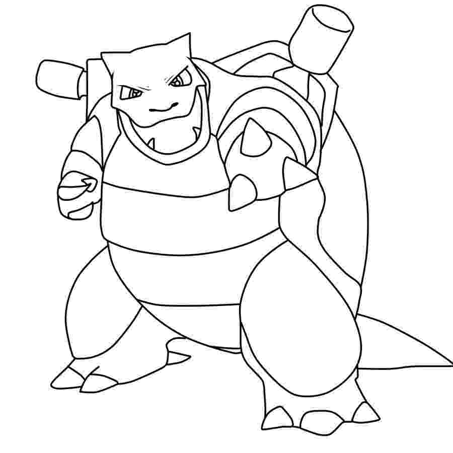 blastoise coloring pages free blastoise coloring pages collection free pokemon coloring blastoise pages