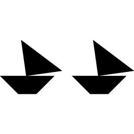 boat tangram tangram boat 2 funnycrafts boat tangram