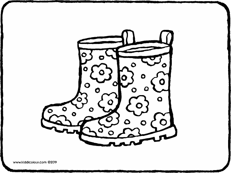 boot coloring pages cowgirl boots coloring pages at getdrawingscom free for boot pages coloring