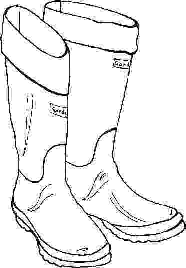 boot coloring pages rain boots coloring page coloring home boot pages coloring
