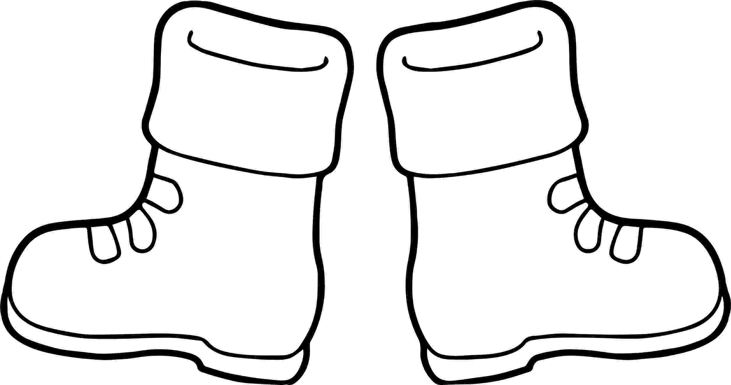 boots coloring page nice winter boots coloring page winter boots toddler boots coloring page