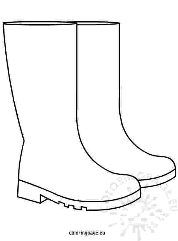 boots coloring page rain boots coloring page wee folk art page boots coloring