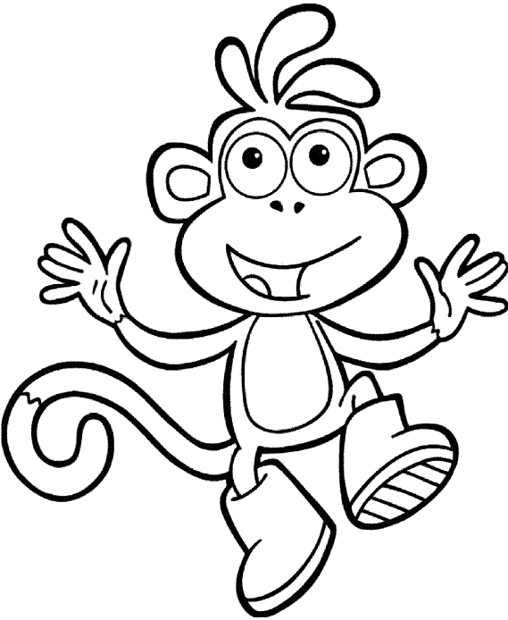 boots from dora how to draw boots the monkey from dora the explorer dora from boots