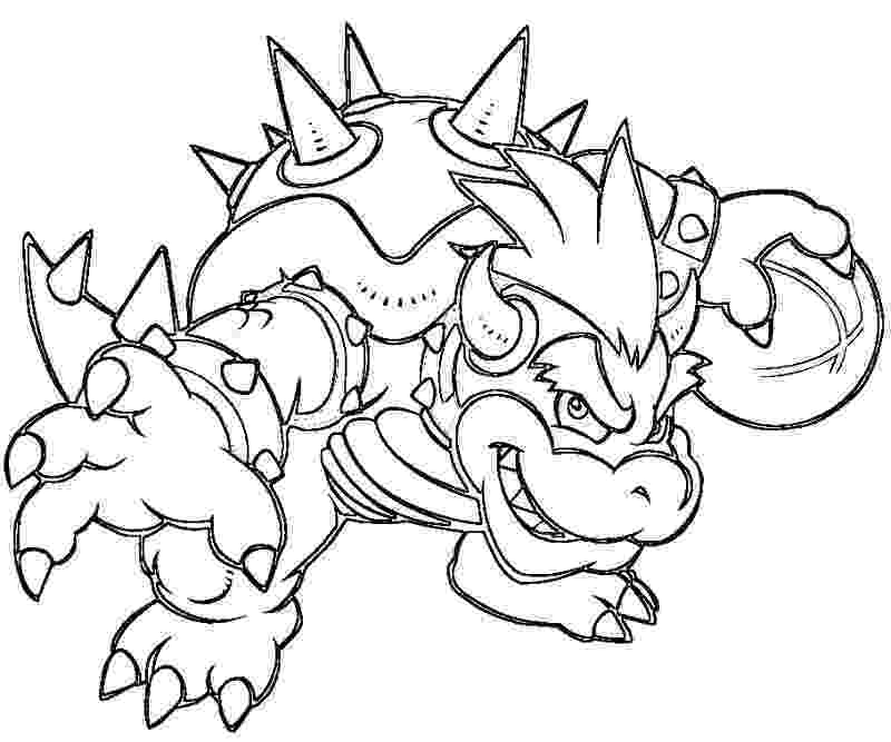 bowser picture bowser characters coloring pages bowser picture