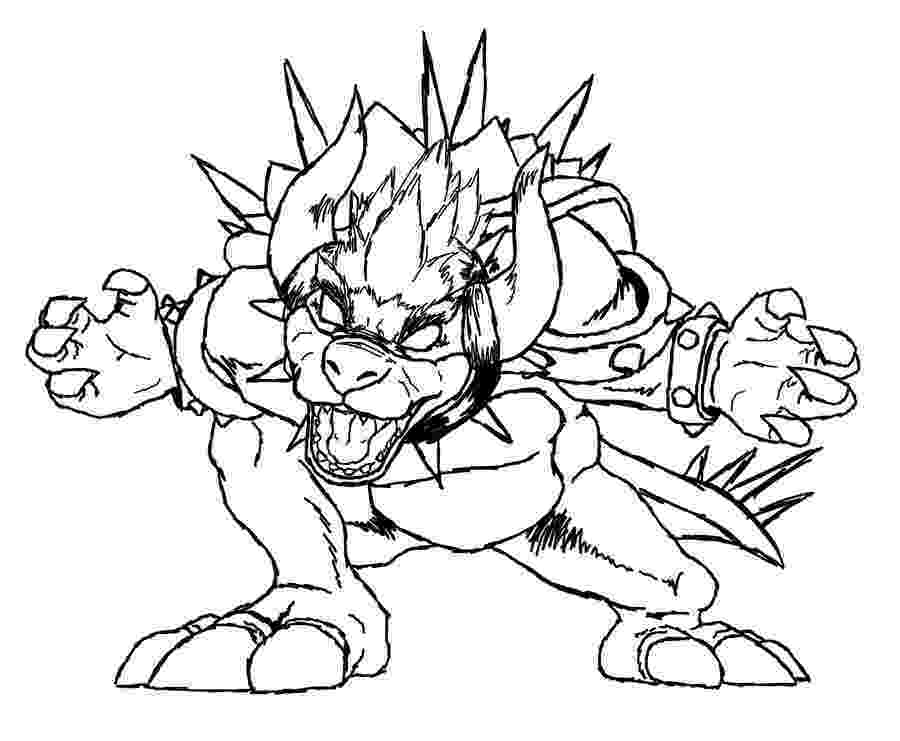 bowser picture bowser coloring by blistinaorgin on deviantart picture bowser