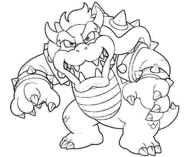 bowser picture bowser coloring pages best coloring pages for kids picture bowser 1 1