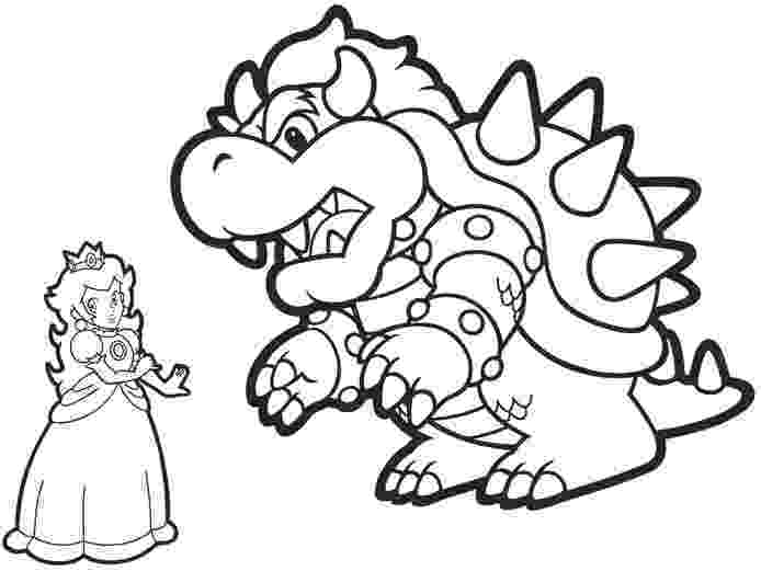 bowser picture bowser mario coloring pages by tyler zeke 5th birthday bowser picture