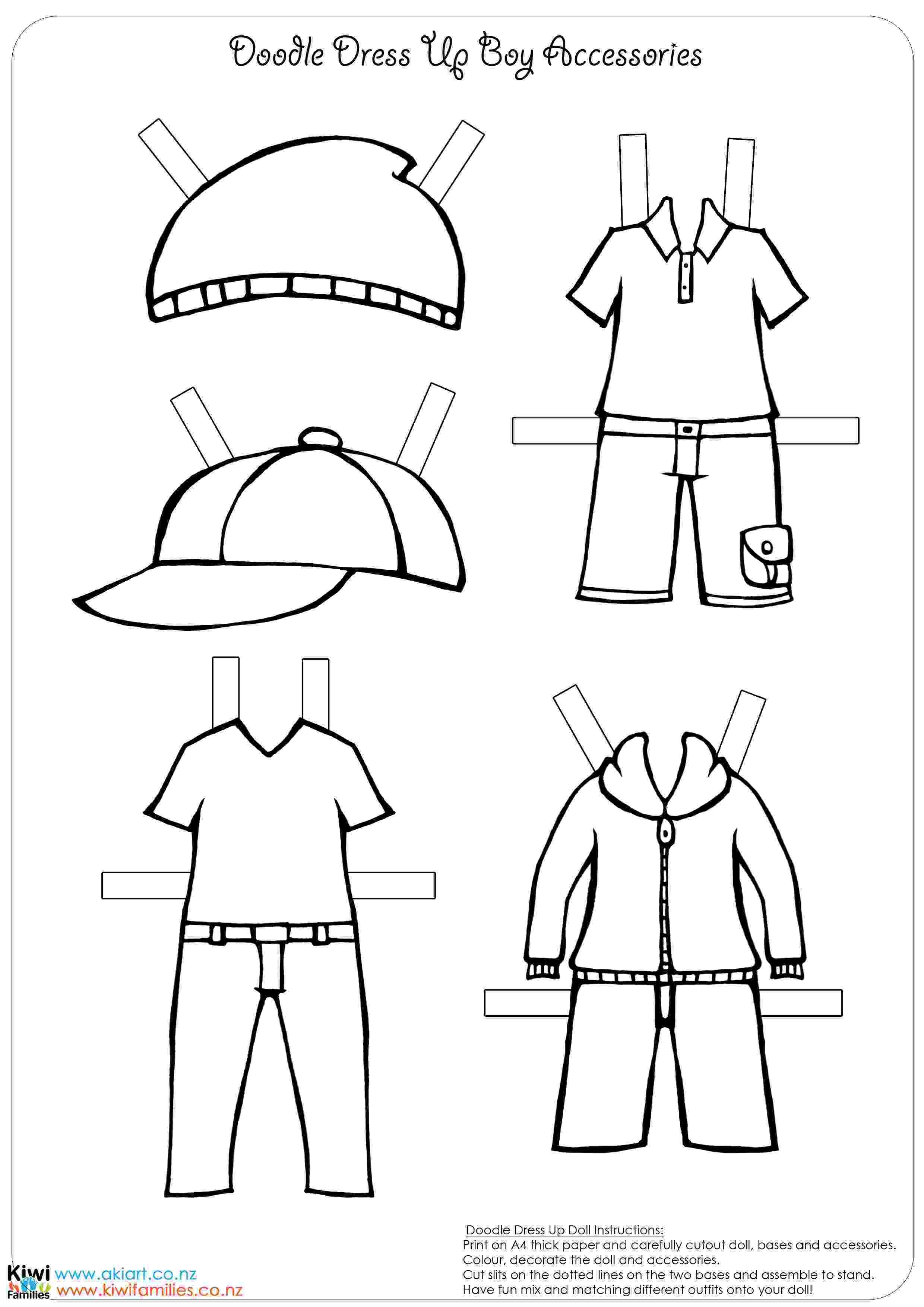 boy paper dolls athabascan winter studies ane kindergarten unit boy paper dolls