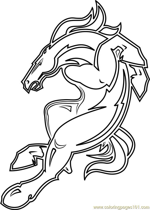 broncos coloring page nfl logos coloring pages coloring pages to download and coloring page broncos