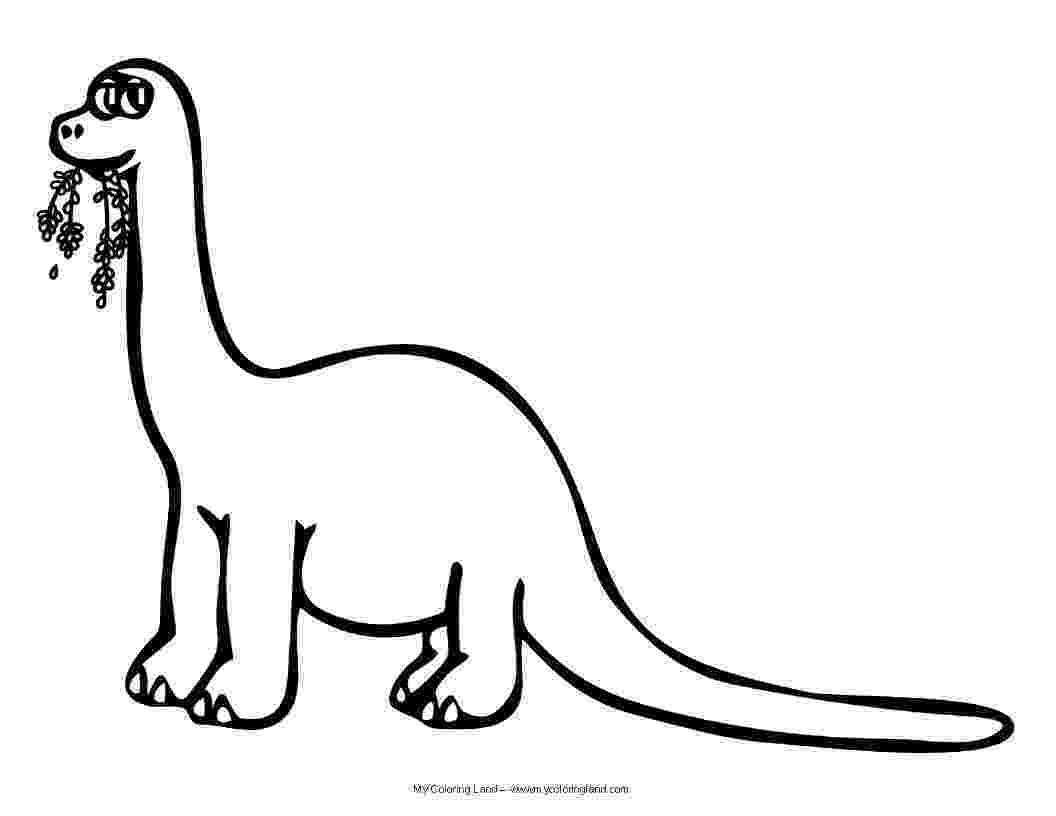 brontosaurus coloring page apatosaurus coloring page coloring home coloring page brontosaurus