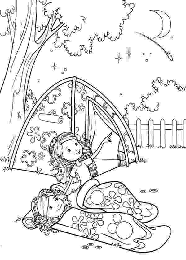 brownie color free printable girl scout coloring pages for kids cool2bkids color brownie