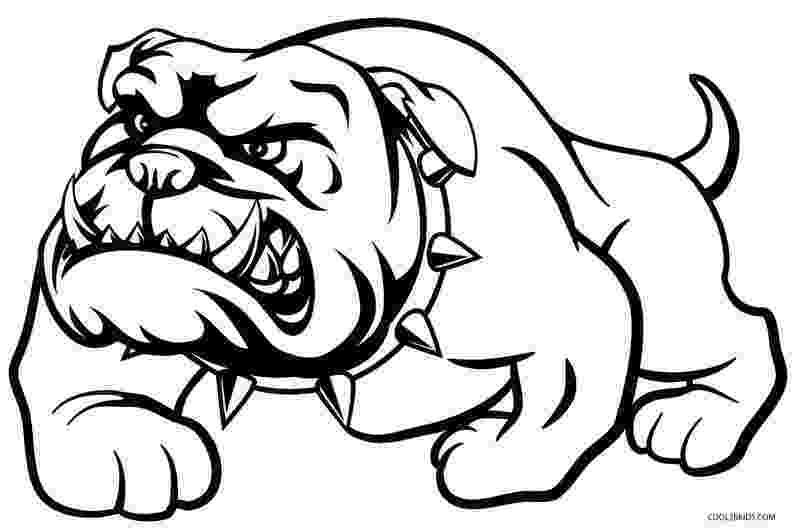 bulldogs coloring pages american bulldog drawing at getdrawingscom free for pages bulldogs coloring
