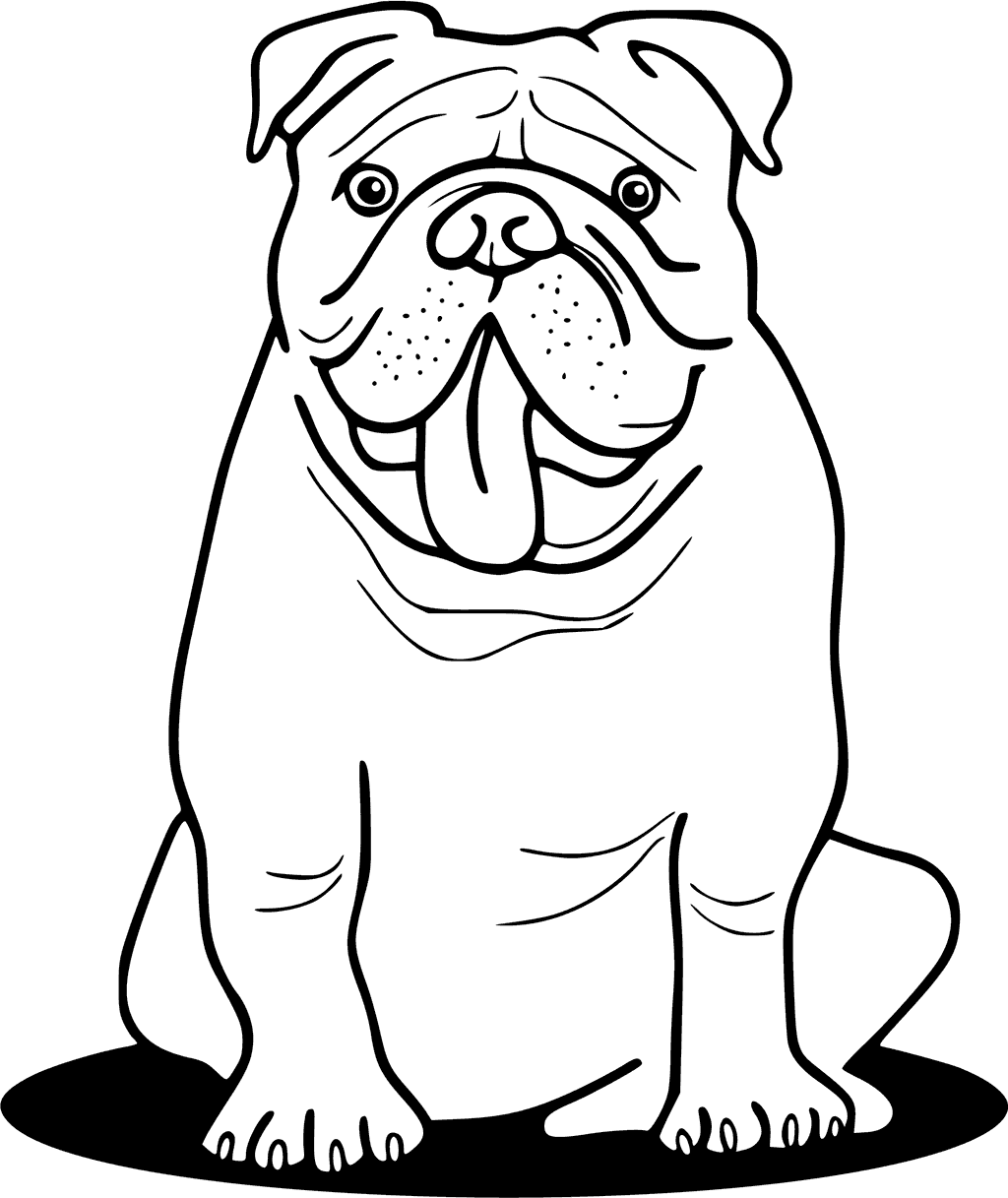 bulldogs coloring pages bulldog coloring pages printable coloring home coloring bulldogs pages