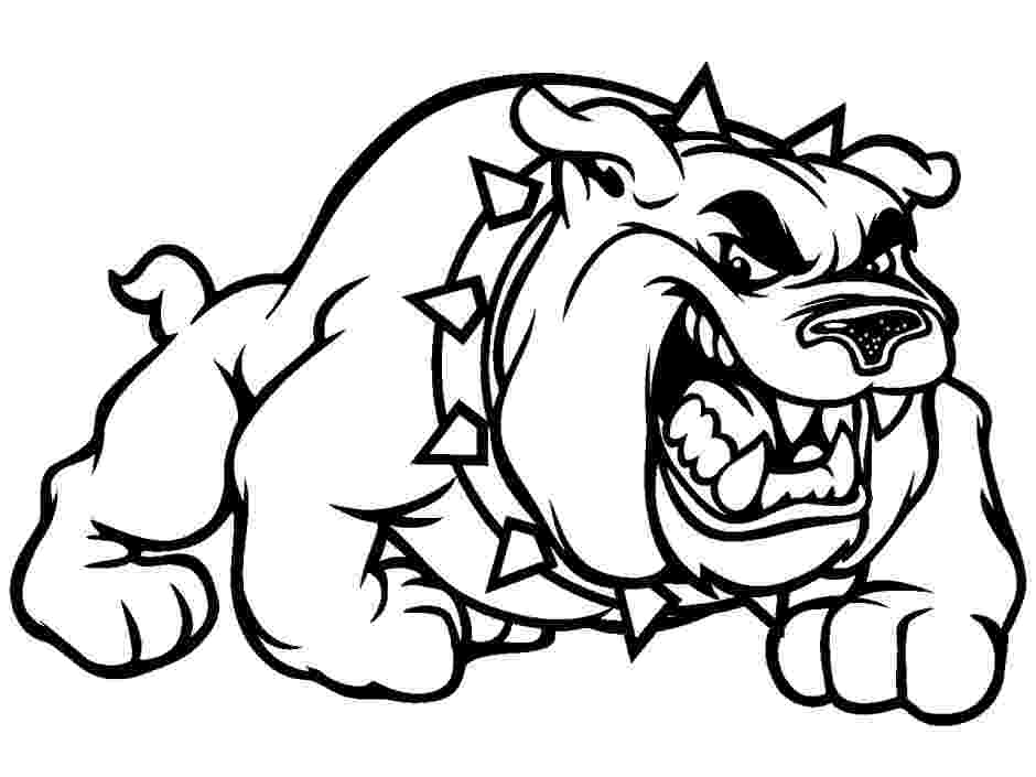 bulldogs coloring pages bulldog coloring pages to download and print for free pages coloring bulldogs