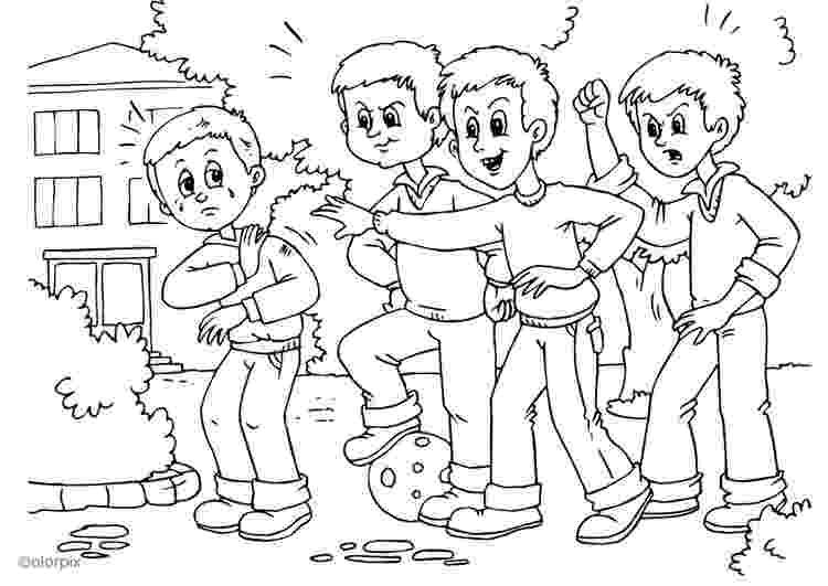 bullying para colorear images bullying coloring pages printables pages colorear para bullying