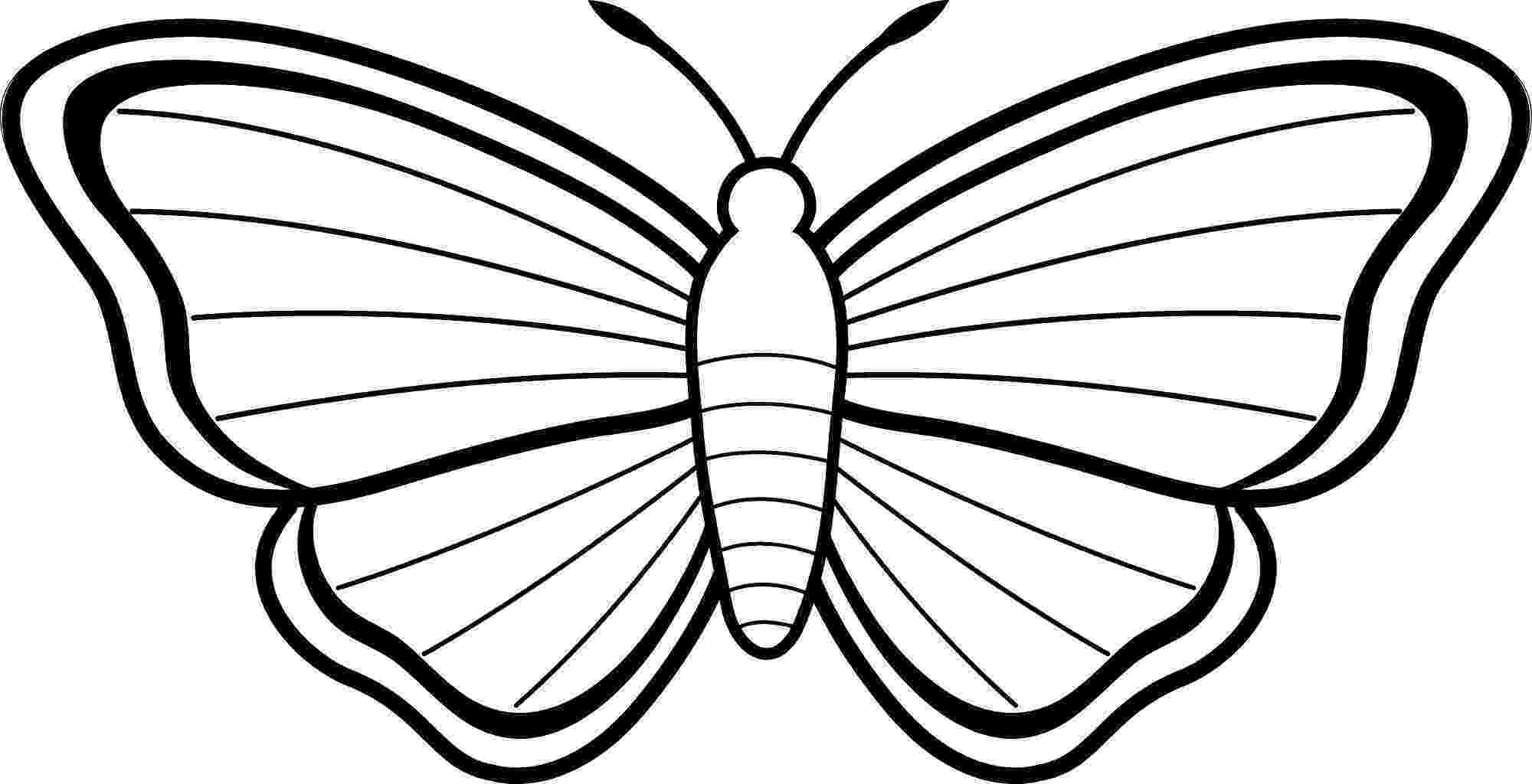 butterflies to color free free printable butterfly coloring pages for kids free butterflies color to