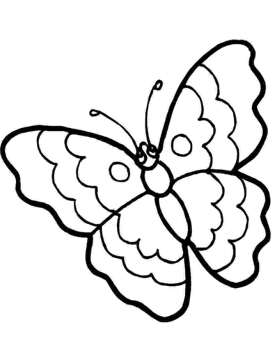 butterflies to color free printable butterfly coloring pages for kids cool2bkids butterflies color to free