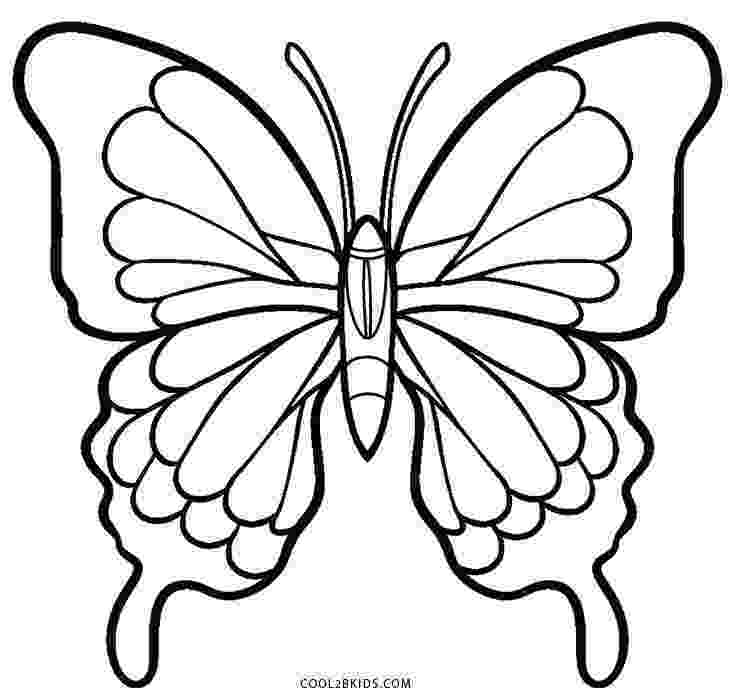 butterflies to color free printable butterfly coloring pages for kids cool2bkids free to butterflies color